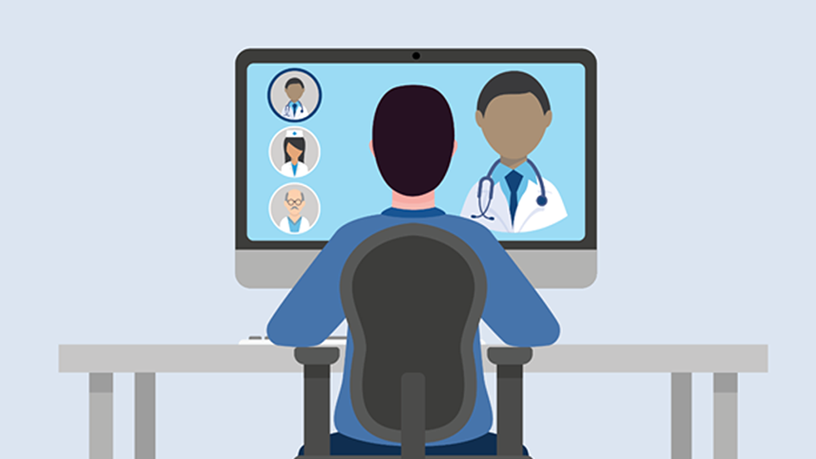 Veteran communication with healthcare providers using telehealth technologies